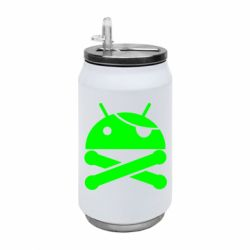 Термобанка 350ml Pirate Android