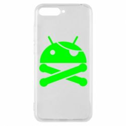 Чехол для Huawei Y6 2018 Android Pirate - FatLine