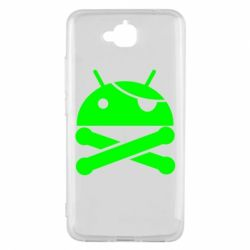 Чехол для Huawei Y6 Pro Android Pirate - FatLine