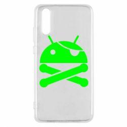 Чехол для Huawei P20 Android Pirate - FatLine