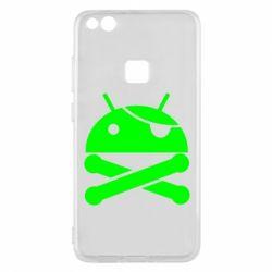 Чехол для Huawei P10 Lite Android Pirate - FatLine