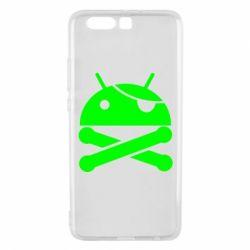 Чехол для Huawei P10 Plus Android Pirate - FatLine