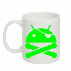 Кружка 320ml Android Pirate - FatLine