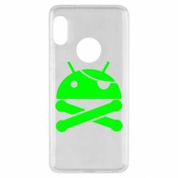 Чехол для Xiaomi Redmi Note 5 Android Pirate - FatLine