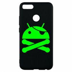 Чехол для Xiaomi Mi A1 Android Pirate - FatLine