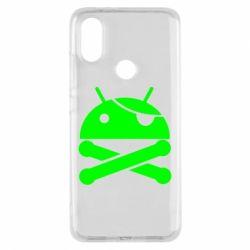 Чехол для Xiaomi Mi A2 Android Pirate - FatLine