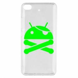 Чехол для Xiaomi Mi 5s Android Pirate - FatLine
