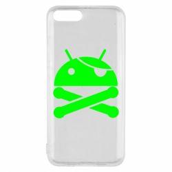 Чехол для Xiaomi Mi6 Android Pirate - FatLine