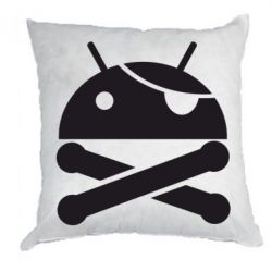 Подушка Android Pirate