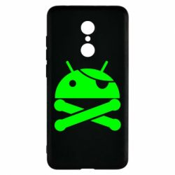 Чехол для Xiaomi Redmi 5 Android Pirate - FatLine