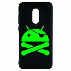 Чехол для Xiaomi Redmi Note 4 Android Pirate - FatLine
