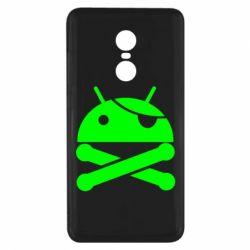 Чехол для Xiaomi Redmi Note 4x Android Pirate - FatLine