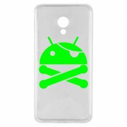 Чехол для Meizu M5 Android Pirate - FatLine