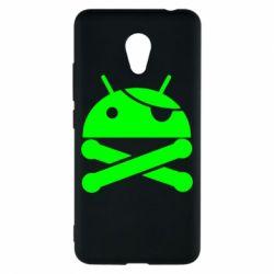 Чехол для Meizu M5c Android Pirate - FatLine