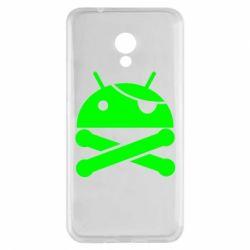 Чехол для Meizu M5s Android Pirate - FatLine
