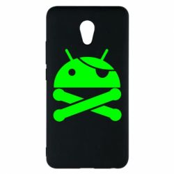 Чехол для Meizu M5 Note Android Pirate - FatLine