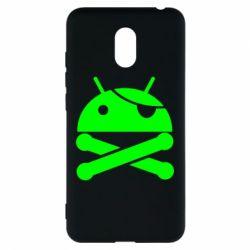 Чехол для Meizu M6 Android Pirate - FatLine