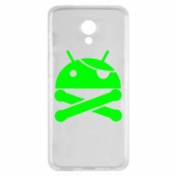 Чехол для Meizu M6s Android Pirate - FatLine