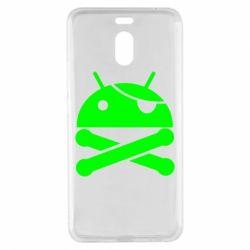 Чехол для Meizu M6 Note Android Pirate - FatLine
