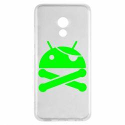 Чехол для Meizu Pro 6 Android Pirate - FatLine