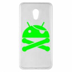 Чехол для Meizu Pro 6 Plus Android Pirate - FatLine