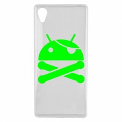 Чехол для Sony Xperia X Android Pirate - FatLine