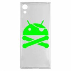 Чехол для Sony Xperia XA1 Android Pirate - FatLine