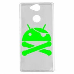 Чехол для Sony Xperia XA2 Android Pirate - FatLine