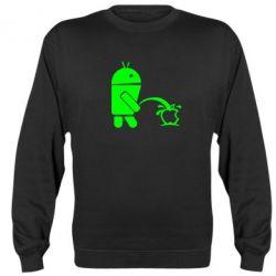Реглан (свитшот) Android унижает Apple - FatLine