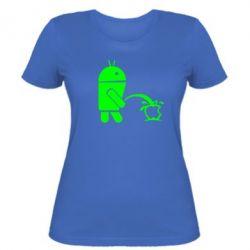 Женская футболка Android унижает Apple - FatLine