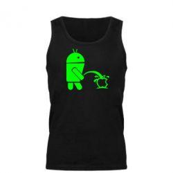 Мужская майка Android унижает Apple - FatLine