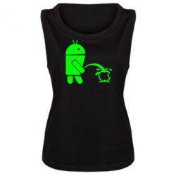 Женская майка Android унижает Apple