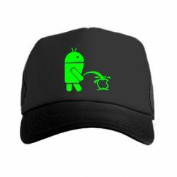 Кепка-тракер Android унижает Apple - FatLine