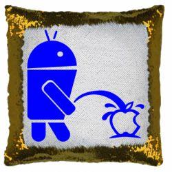 Подушка-хамелеон Android принижує Apple