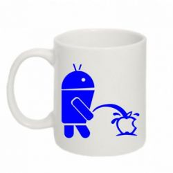 Кружка 320ml Android принижує Apple