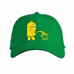 кепка Android унижает Apple