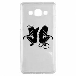 Чохол для Samsung A5 2015 Ангел і Демон