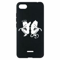 Чохол для Xiaomi Redmi 6A Ангел і Демон