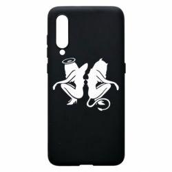 Чохол для Xiaomi Mi9 Ангел і Демон