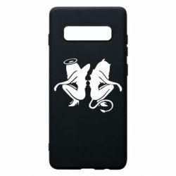 Чохол для Samsung S10+ Ангел і Демон