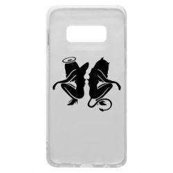 Чохол для Samsung S10e Ангел і Демон