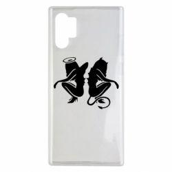 Чохол для Samsung Note 10 Plus Ангел і Демон