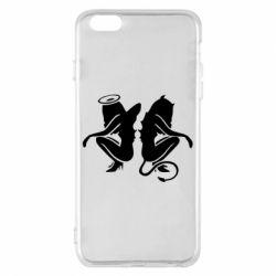 Чохол для iPhone 6 Plus/6S Plus Ангел і Демон