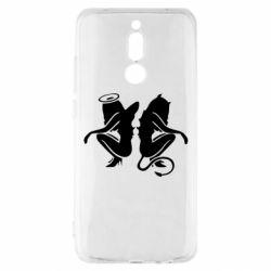 Чохол для Xiaomi Redmi 8 Ангел і Демон