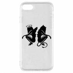 Чохол для iPhone 7 Ангел і Демон