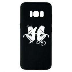 Чохол для Samsung S8 Ангел і Демон