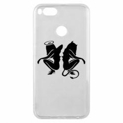 Чохол для Xiaomi Mi A1 Ангел і Демон