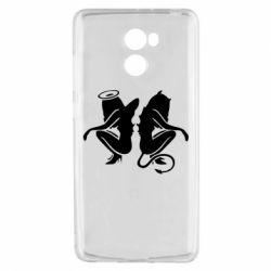 Чохол для Xiaomi Redmi 4 Ангел і Демон