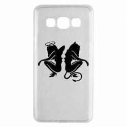 Чохол для Samsung A3 2015 Ангел і Демон
