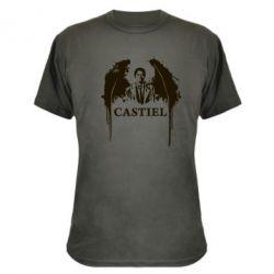 Камуфляжная футболка Ангел Кастиэль - FatLine
